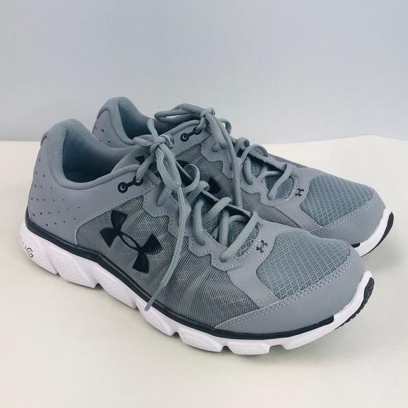 Under Armor Gray Running Shoes Sz5
